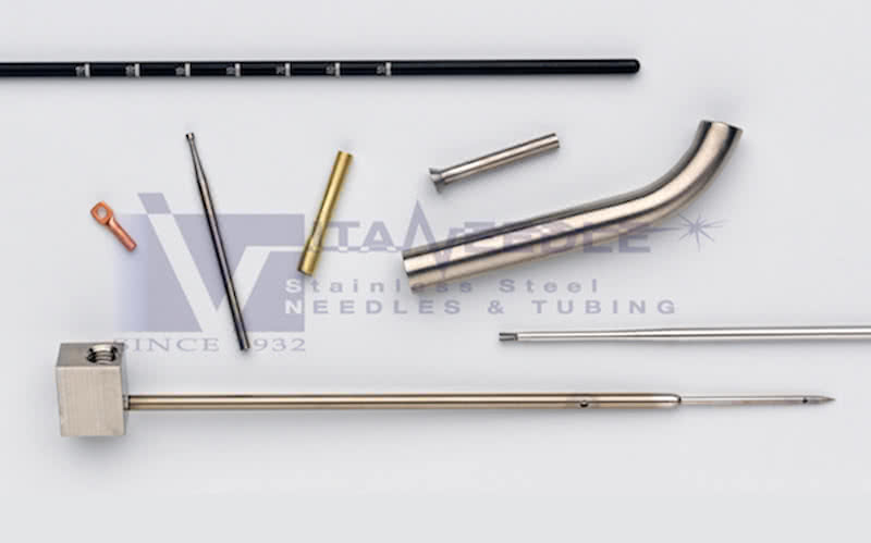 machined stainless steel tubing parts