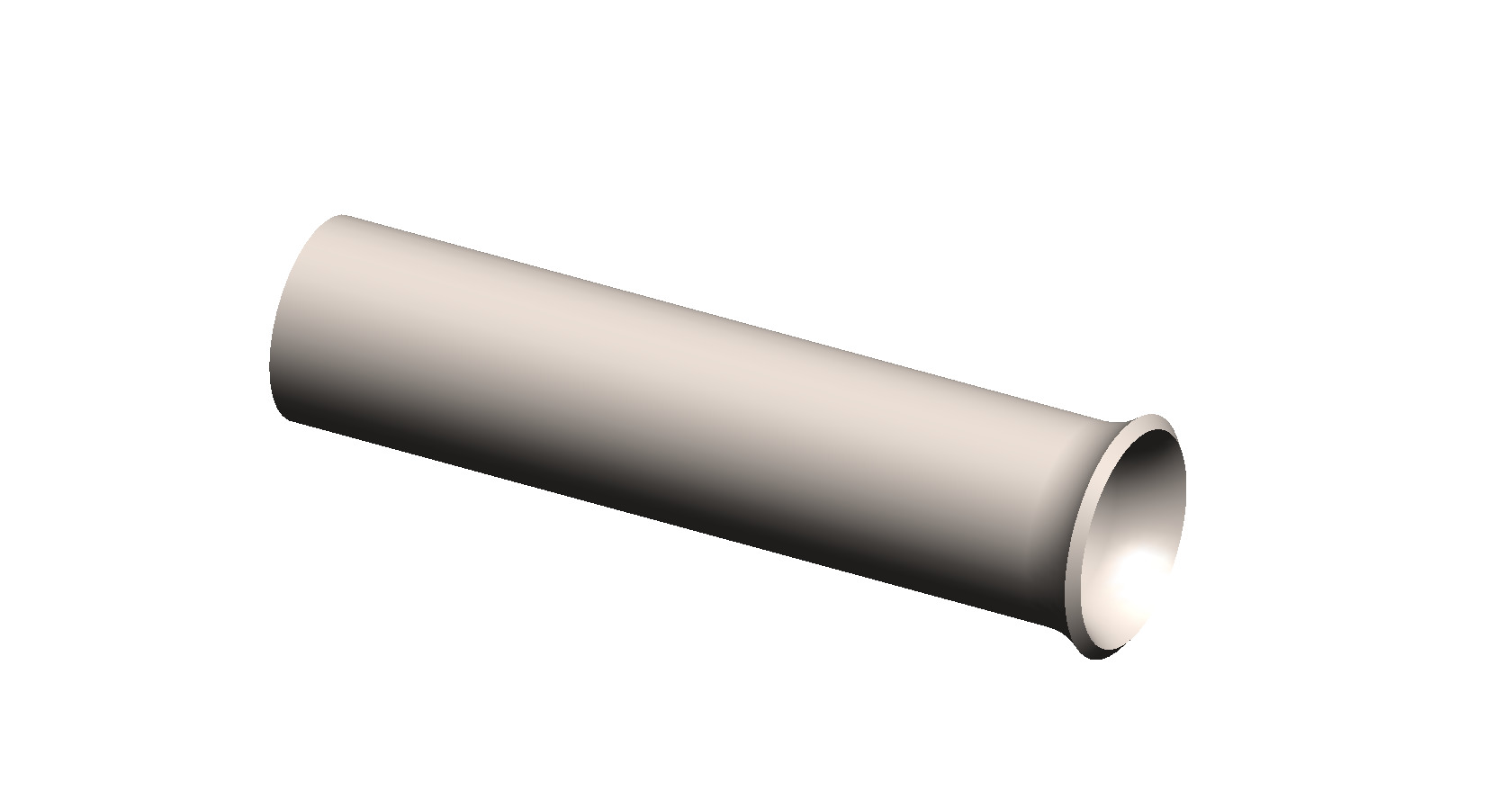 closed end bevel tubing
