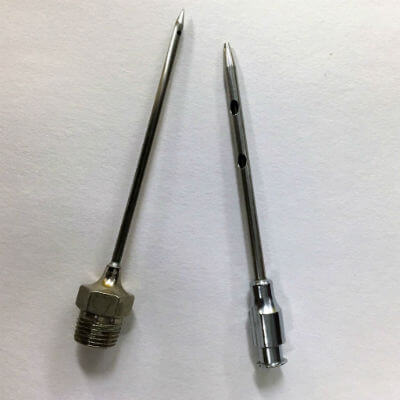 pencil point needle assembly