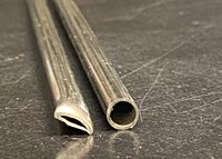 as cut stainless steel tubing